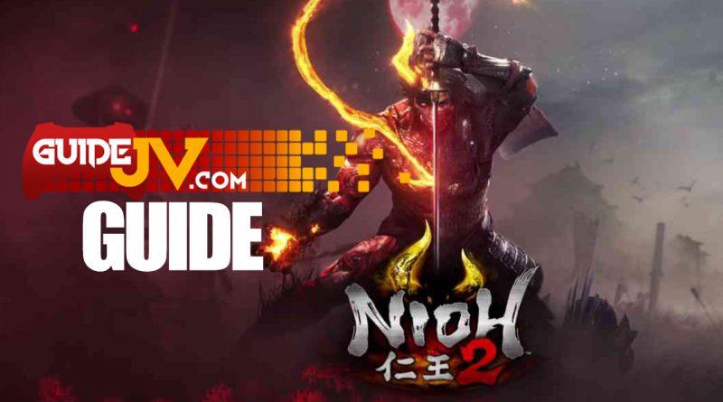Nioh 2 guide trophée