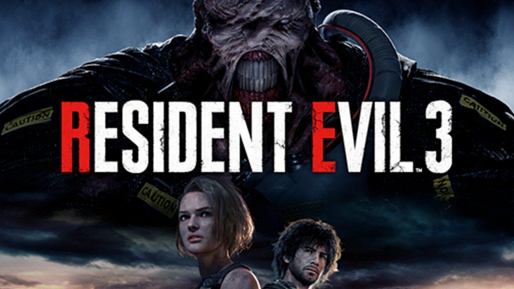 resident evil 3 fond ecran