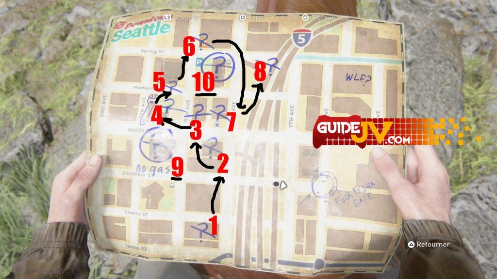 the-last-os-us-2-guide-trophée-visiter-zone-seattle-touriste-soluce