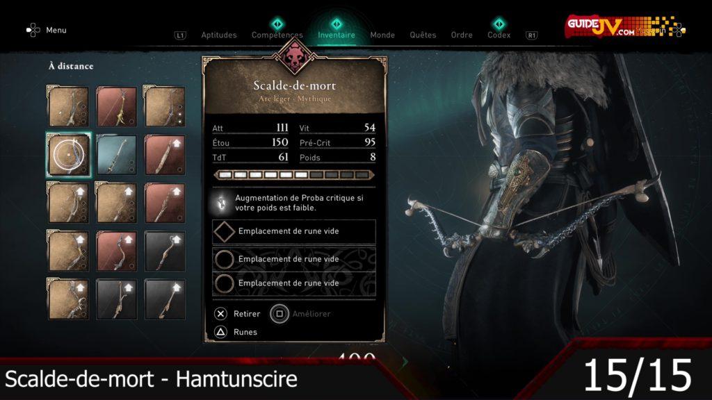 assassins creed valhalla tous les arcs du jeu