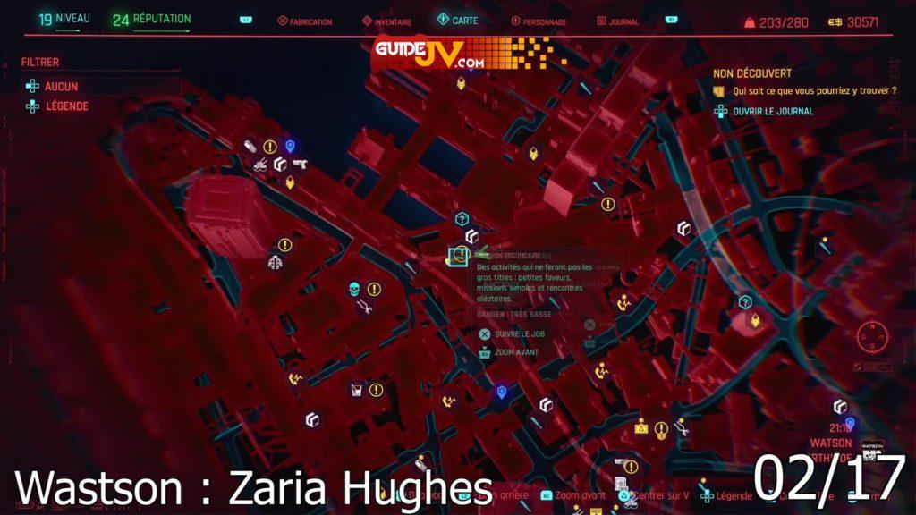 cyberpunk 2077 emplacement cyberspycho la loi cest moi