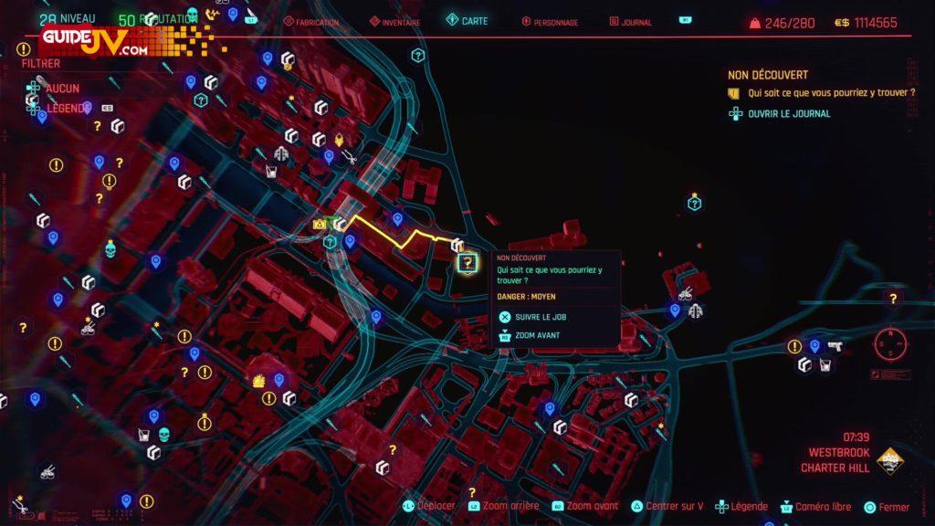 cyberpunk 2077 objets johnny silverhand you re breathtaking guide trophee succes